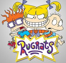 Rugrats Iron On Transfer For T-Shirt & Other Light Color Fabrics #1
