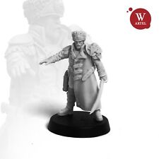 """28mm wargaming and collectible miniature, Major Brokk by Artel """"W"""""""