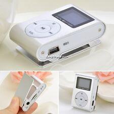 Mini MP3 Player Clip USB FM Radio LCD Screen Support 32GB Micro SD