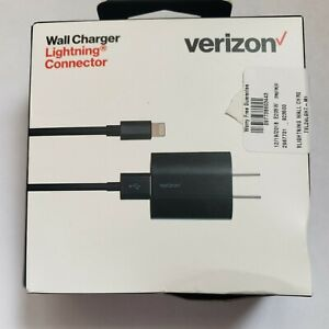 VERIZON WALL CHARGER LIGHTNING CONNECTOR FOR IPHONE 100% ORIGINAL