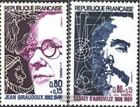 Frankreich 1895-1896 (kompl.Ausg.) postfrisch 1974 Berühmte Franzosen