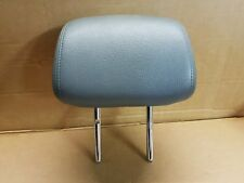 SAAB 9-3 CONVERTIBLE 2007 FRONT GREY LEATHER HEADREST