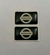 NISSAN 3D DOMED BADGE LOGO EMBLEM STICKER GRAPHIC DECAL S15 SKYLINE GTR SILVIA