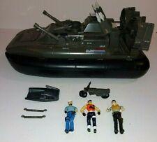 1984 GI JOE COBRA KILLER WHALE HOVERCRAFT 100% Complete W/ Motorcycle & Sled