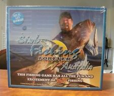 Factory sealed Starlo Fishing Forever Australia board game c.2008 2-7 players