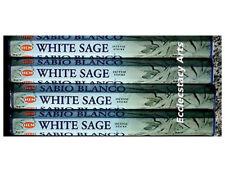 Hem White Sage Incense 20 Sticks x 4, 80 Incense Sticks Bulk Blessin-Cleansing