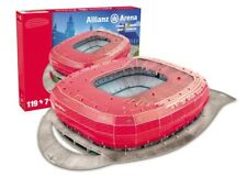 FC BAYERN MÜNCHEN 3D PUZZLE, ALLIANZ ARENA FCB STADION PUZZLE 119 TEILE NANOSTAD