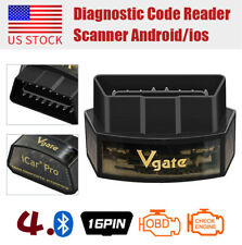 Vgate iCar Pro Bluetooth 4.0 ELM327 OBD2 Diagnostic Scanner Tool Code Reader US