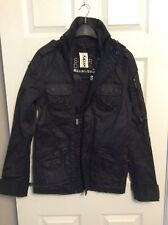 BNWT SUPERDRY BLACKWATCH ARMY MOTORCYCLE STYLE SMALL JACKET
