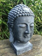 Large Buddha Head Garden Ornament Latex And Fibreglass Mould/Mold (tested )