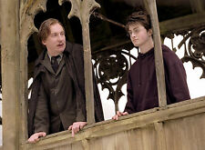 PHOTO HARRY POTTER - DANIEL RADCLIFFE ET  DAVID THEWLIS 11X15 CM #1B