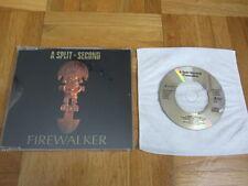 """A SPLIT SECOND Firewalker 1990 EUROPEAN 3"""" CD single"""