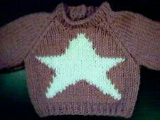 Christmas Holiday Star Sweater Handmade for 16 inch Cabbage Patch Kid Doll