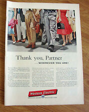1956  Western Bell Telephone Ad If you Live in Bangor Maine Burbank CA Beloit