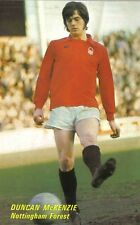 Football Photo>DUNCAN McKENZIE Nottingham Forest 1970s