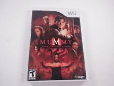 Mummy Tomb of the Dragon Emperor Nintendo Wii 2008 CIB Complete Disc Manual Case