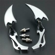 Chrome Arrow Side Rearview Mirrors fit For Harley Big Dog Titan Iron Horse