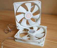 2x Cooler Master 140mm Performance White PC Case Fan, 3 pin, Brand New/OEM
