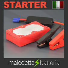 Avviatore di Emergenza Auto Batteria Jump Starter Power Bank Booster Portatile