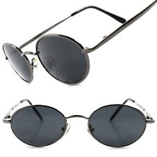 061578ac41 Classic Indie Retro Fashion Stylish Mens Womens Vintage Round Oval  Sunglasses