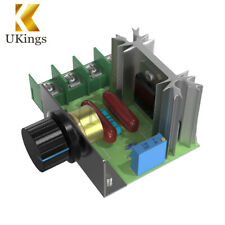 220V 2000W Speed Motor Controller SCR Voltage Regulator Dimmers Thermostat
