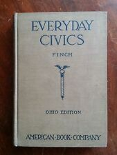 Everyday Civics-Finch-Ohio Edition-American Book Co.-1928  (B10)