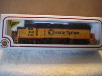 H.O. Bahmann locomotive  GP-40 (B&O Chessie System)