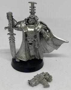 Warhammer 40K Inquisition Inquisitor Metal Oop