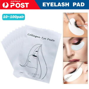 200 x Under Eye Curve Eyelash Pads Gel Patch Lint Free Lash Extension Beauty