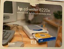 HP 8200 Series External USB CD Writer 8220E NOS