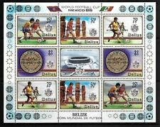 Football Sheet Stamps
