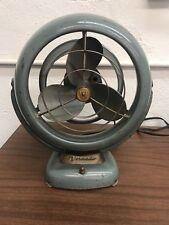 Vintage Vornado  Jr. Art Deco Mid Century Modern Desk Fan model 1402