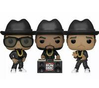 Funko Pop! Rocks RUN-DMC Complete Set of 3