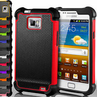 Hybrid Rugged Shockproof Rugged Rubber Hard Cover Case For Samsung Galaxy S/Mini