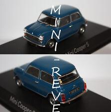 Norev Mini Cooper S 1970 Bleu 1/43 350201