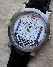 Armbanduhr Zifferblatt mit Freimaurer Motiv - Ronda schweizer Quarzuhrwerk - 55