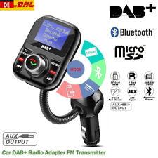 DAB+ Autoradio Digital Empfänger Adapter Bluetooth FM Transmitter Antenne USB DE