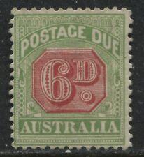 Australia 1909 6d Postage Due unused no gum