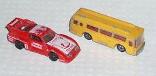 Vintage Tomica Pocket Cars 1979 Toyota Celica Turbo Fuso Hato Bus Diecast Japan