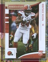 NICK CHUBB 2018 RC Rookie #113 CLEVELAND BROWNS / Rookies And Stars