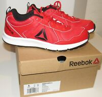 Reebok Boys Almotio 4.0 Sneakers Sz 6 Running Youth GS Red Black Shoes NIB