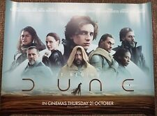 DUNE quad Cinema Poster New.