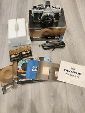 Olympus OM-2 35mm SLR Film Camera And Focus Screens Boxed Never Used Please Read