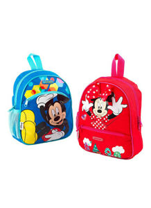Samsonite Disney Minnie / Mickie Mouse Backpack / Pencial Case School Lunch Box