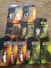 Star Wars Power Of The Force Action Figures 1995-1997 New on Cards - Lot of 10