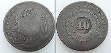Da collezione 40 REIS Brasile Coin-CONTROMARCA SUD AMERICA