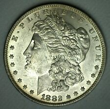 1882 O Morgan Silver Dollar Uncirculated Coin New Orleans Minted $1 US Coin