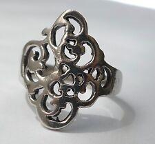 Ring filigrane Arbeit 925 Silber Vintage 80er ring silver