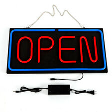 24x12 inch Bright Neon Open Sign Businesses Club Shop Wall Window Hanging 30W Us