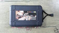 1X Broadhead Case Box Black Plastic L Size Capacity Protector Portable Tip Blade